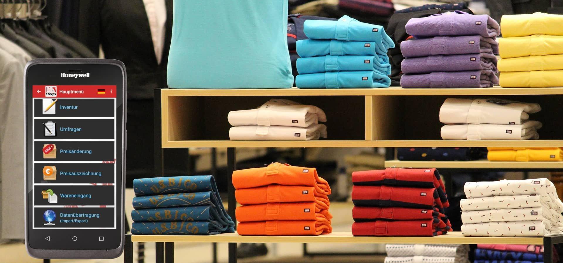 Retail Management mit dem Honeywell EDA51 im Modeeinzelhandel