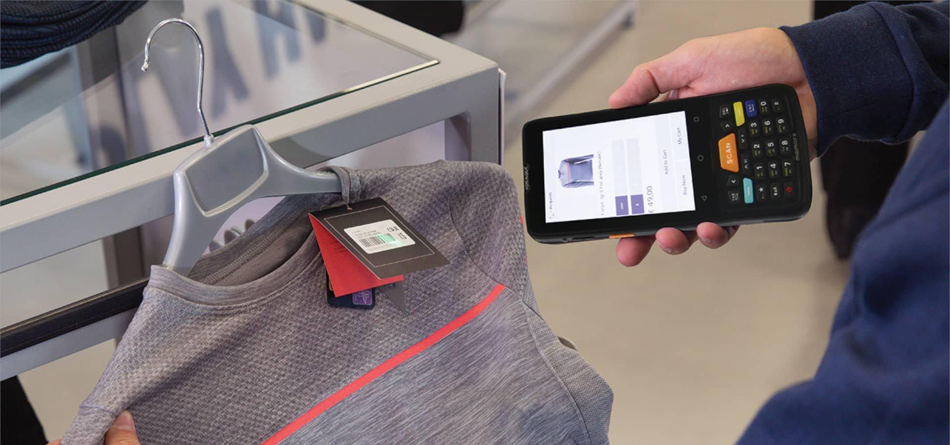 Datalogic Memor K: Mit Kompaktheit und Leistung den Textilhandel optimieren