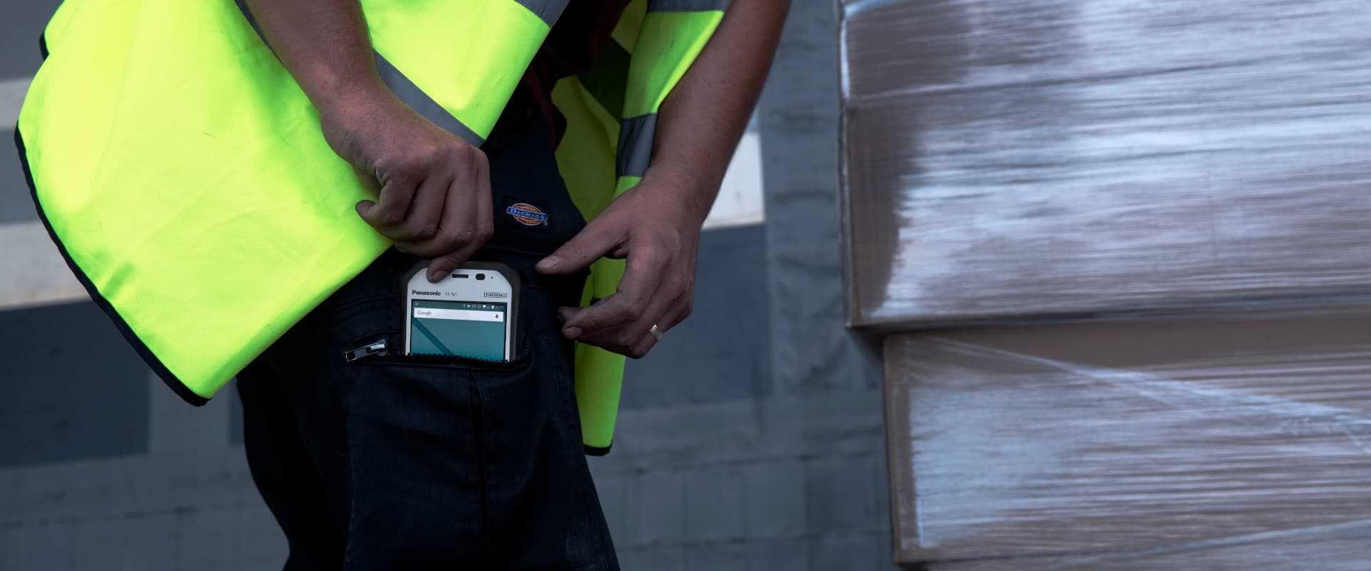 Smartphone Scanning im Transport