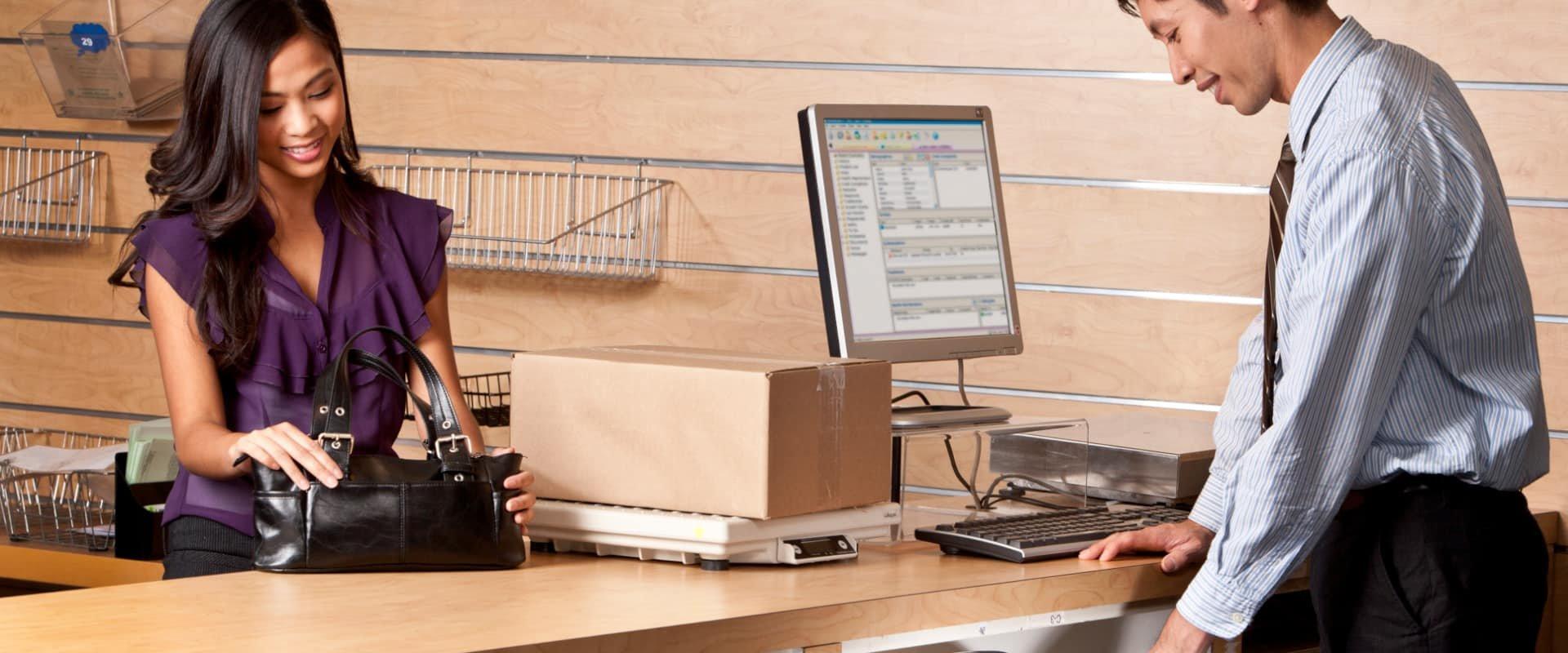 Digitalisierung für Paketshops