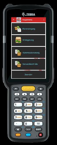 Hauptmenü COSYS App