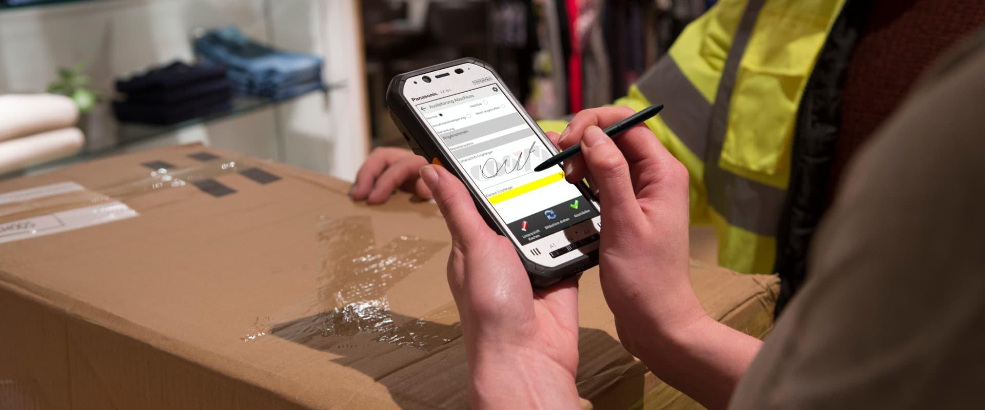 Digitale Sendungsverfolgung für Paketshops