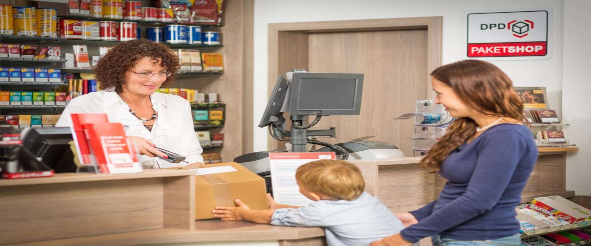 Für Paketshops: E-Mail-Benachrichtigung für Kunden